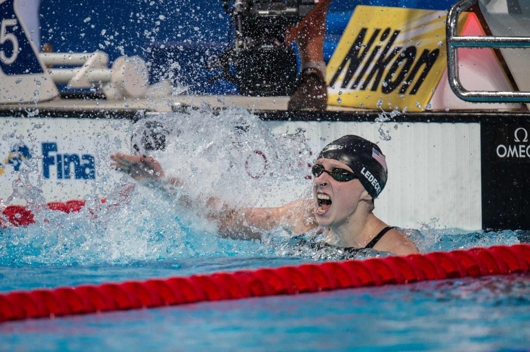 2015 Swammy Awards: Katie Ledecky, Female Swimmer of the Year