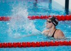 Katie Ledecky, USA, wins women's 1500 freestyle with new World Record of 15:25.48. Day 3 of 2015 World Championships. (courtesy of Tim Binning, theswimpictures.com)
