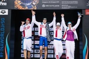 Russian Women Smash 4x100m Medley Junior World Record