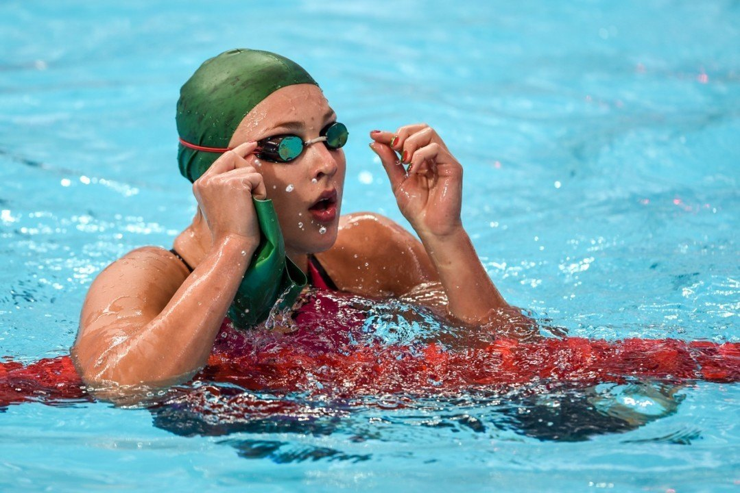 WR Holder Ruta Meilutyte, Still Battling Injury, Delays Comeback