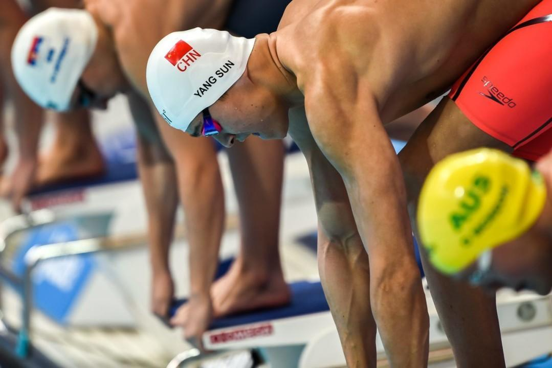 World Record Holder Sun Yang to Be Featured in Chinese Reality TV Show