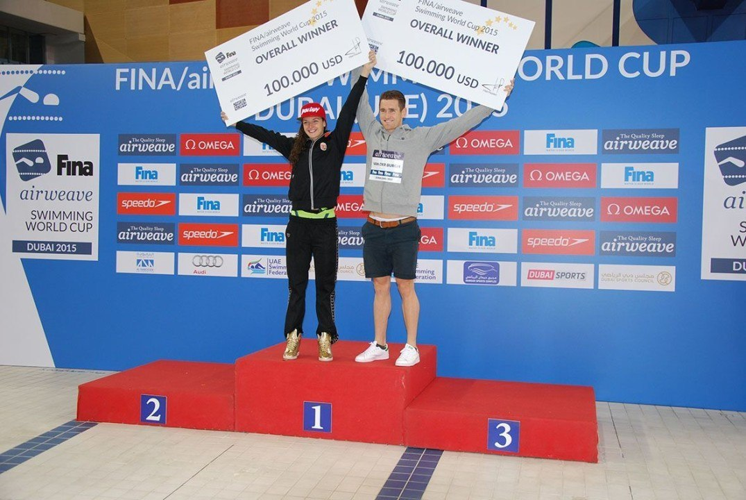 2015 FINA World Cup Dubai In Pictures