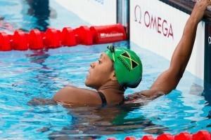 WATCH: Alia Atkinson Tie 100 SCM Breast World Record in Chartres