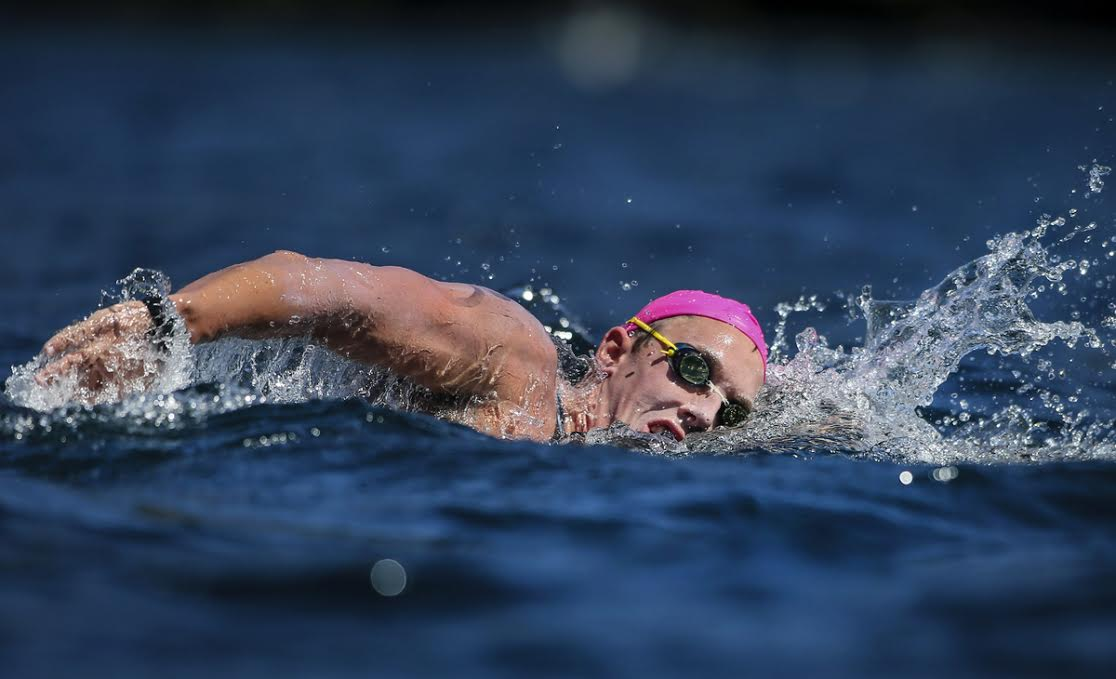 Aussie Brenden Hall Encourages Multi Class Athletes to Try Open Water