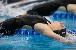 Claire Adams Shifts Focus From 200 Back to 100 Free (Video)