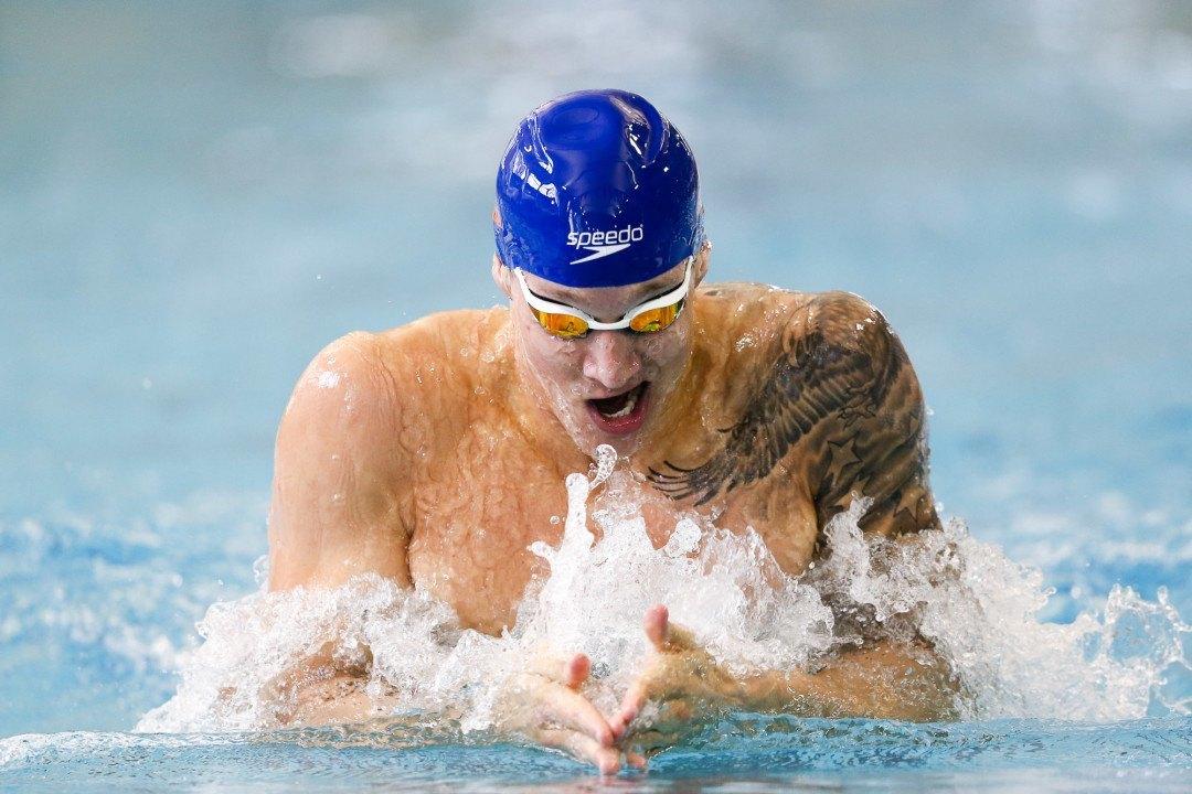 Caeleb Dressel Earns SEC Male Swimmer Of The Week Honors