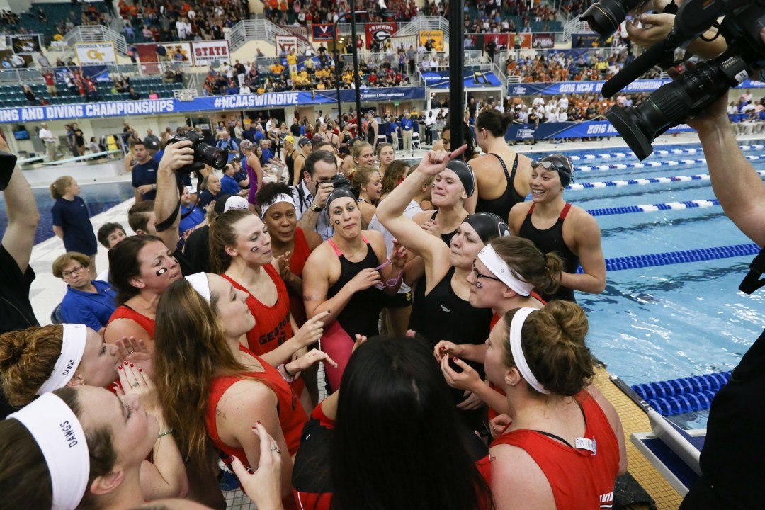 NCAA Champs Georgia Lead 12 Top-25 Programs With 100% GSRs