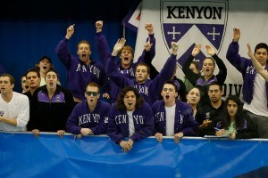 Kenyon's Crile Hart Downs D3 Record in 200 Back with 1:55.67