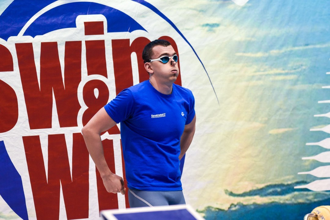 Laszlo Cseh puts up fast 100 m butterfly at ISM, Berlin