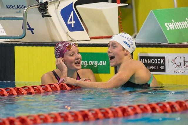Jessica Ashwood and Tamsin Cook - Photo by Steve Christo
