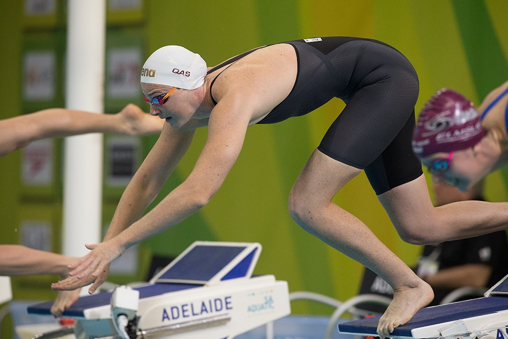 Watch Cate Campbell's 50.25 100 Free (SCM) World Record Race