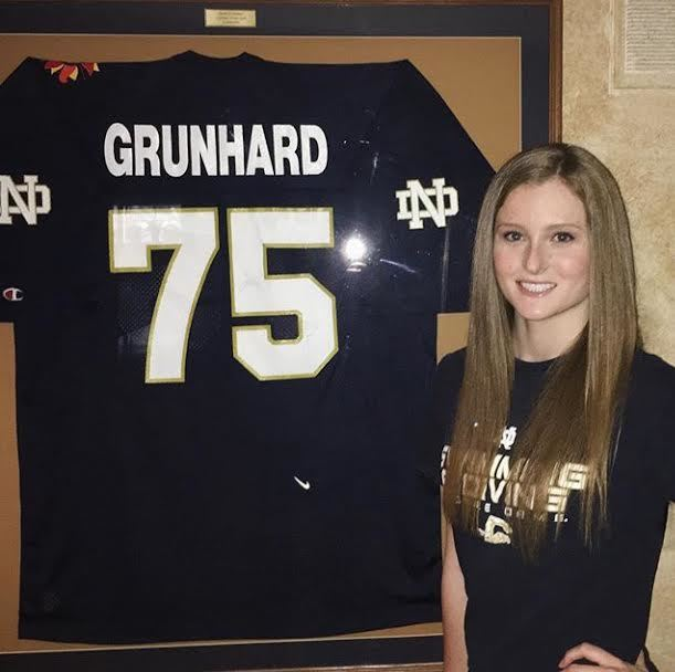 Notre Dame Gets Verbal from HS Junior Cailey Grunhard