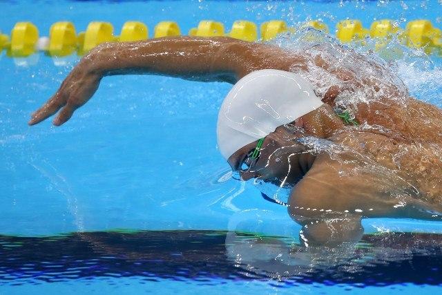 Trofeu Maria Lenk de Natacao, realizado no Centro Aquatico Olimpico. 16 de abril de 2016, Rio de Janeiro, RJ, Brasil. Foto: Satiro Sodré/ SSPress