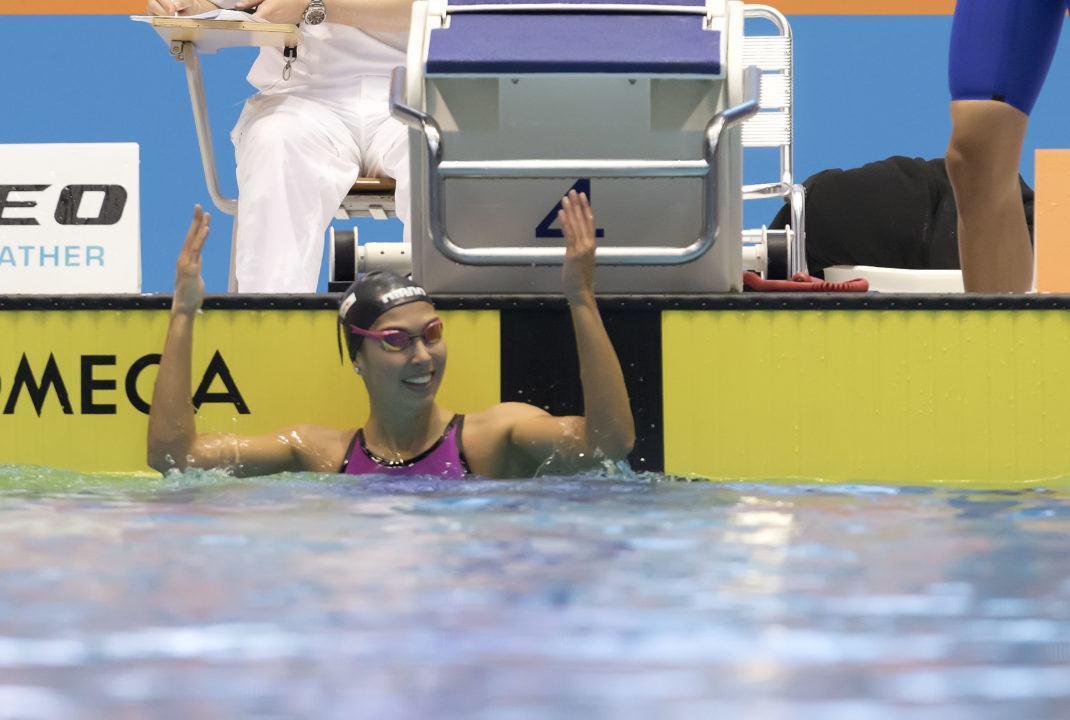 Alexandra Wenk im Halbfinale über 200 m Lagen