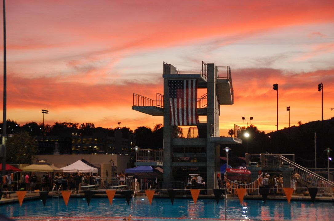 California's Southern Section to Hold Swimming and Diving Championships in May
