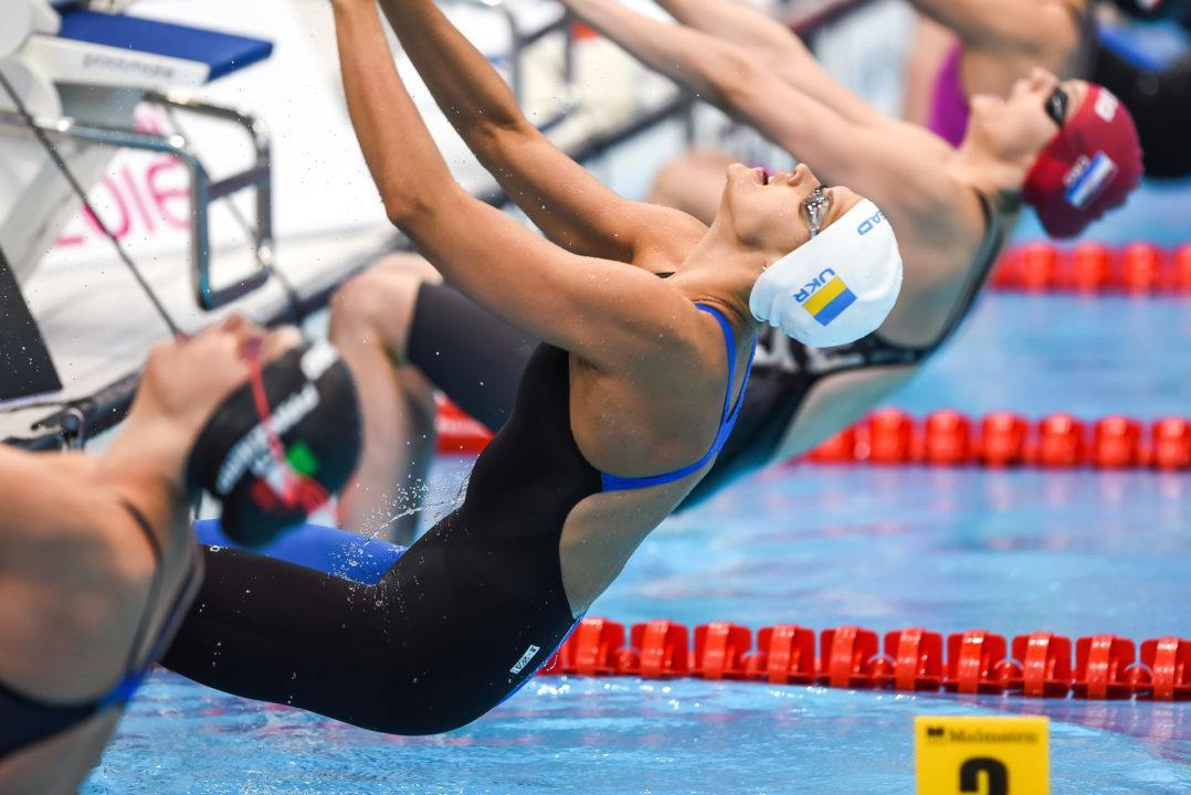 Daryna Zevina Sets New Ukrainian Record En Route To Silver Medal