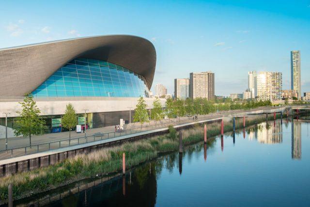London Aqatic Center, European Championships 2016, photo: Peter Sukenik