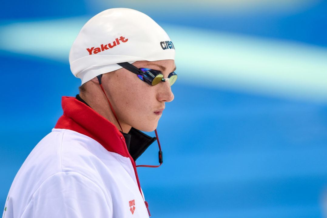 2017 FINA World Cup Limiting Number of Races Per Swimmer Per Stop