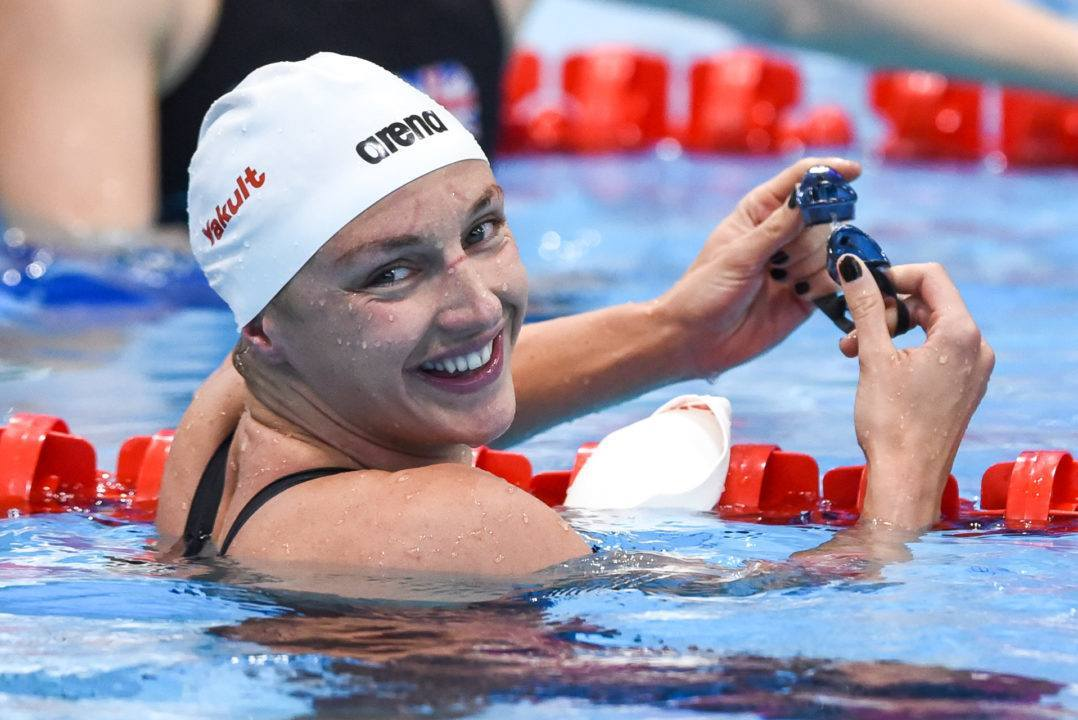 Hosszu Wins Big on Night 1 of Romanian Swimming Championships