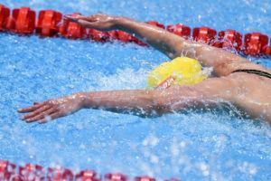 World record holder Sarah Sjostrom had no problem winning the 50 fly at the European Championships.