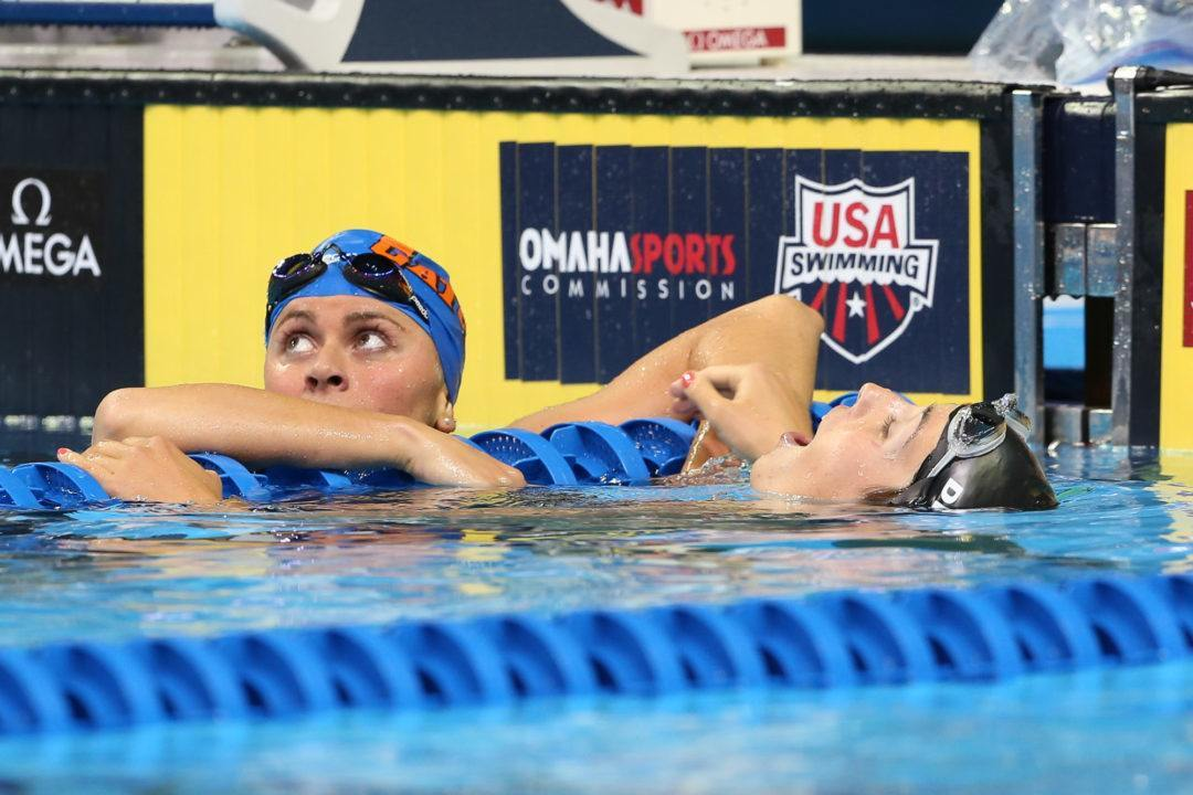 Swimming's TopTenTweets: Maya DiRado, Elizabeth Beisel, and the 400 IM