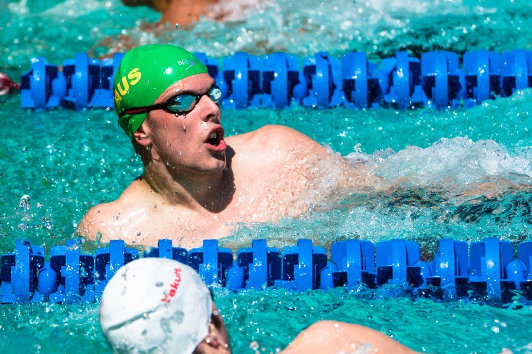 Kyle Chalmers: Watching Caeleb Dressel Puts A Fire In My Belly
