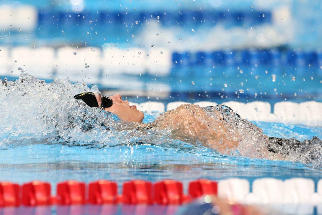 Grace Ariola & Sean Lehane Win Illinois Swimmer of the Year Awards