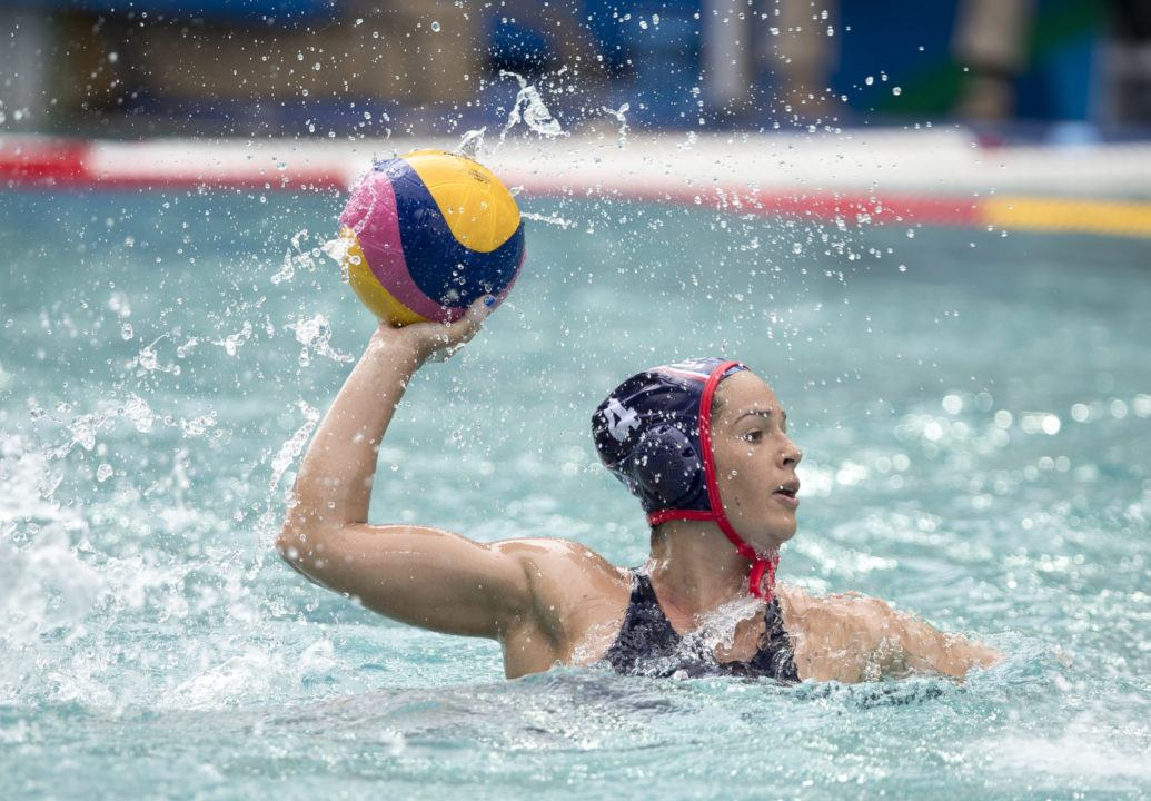 USA, Australia & Spain Improve To 2-0 In Women's Olympic Water Polo Tournament