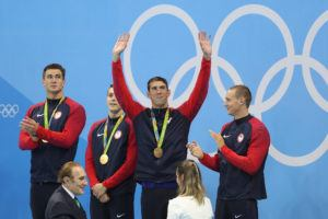 Take A Look at the Historic Progression of Men's Olympic Swimming Medal Leaders