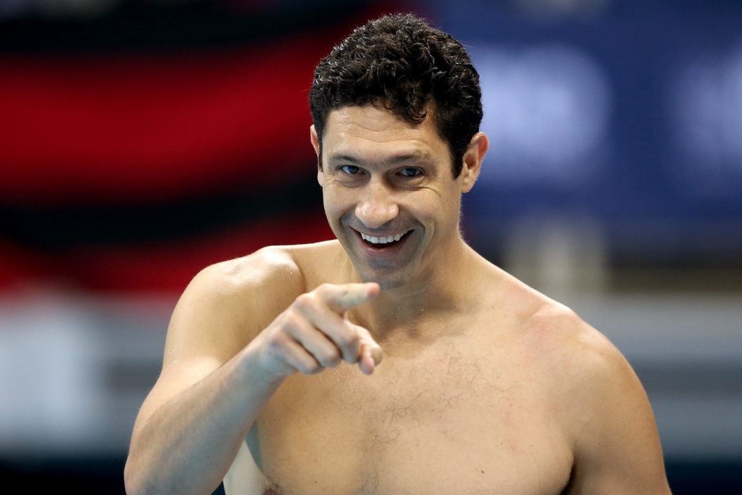 Gustavo Borges Swims 24 Second 50 LCM Free at Age of 44