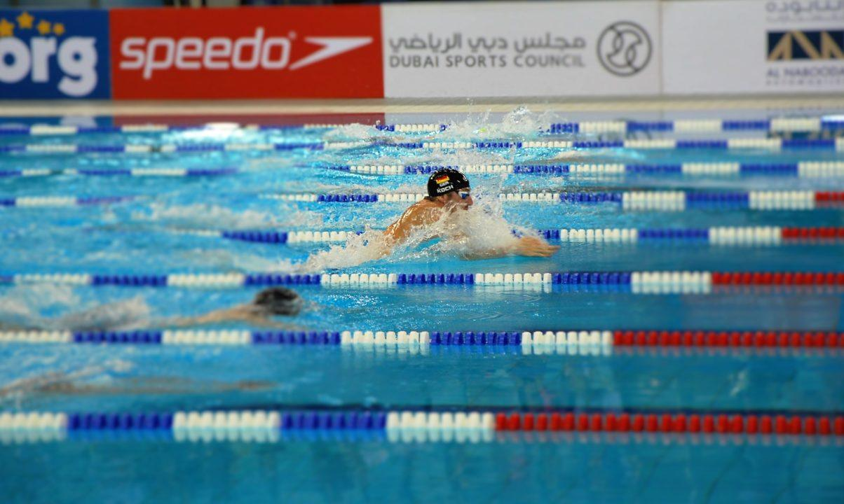 Marco Koch breaks 200 SCM breast world record at German nationals