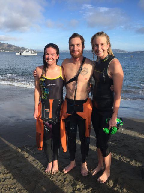 Brad Snyder Alcatraz Swim For Sight 4
