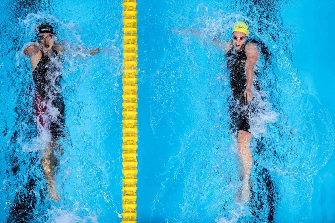 Swimming's TopTenTweets: Seebohm Goes From McKeown's Idol To Her Teammate