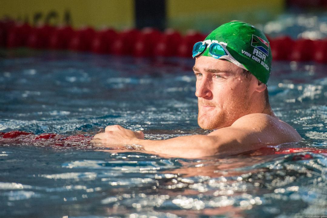 2012 Olympic Gold Medalist Cameron van der Burgh Has Coronavirus Infection