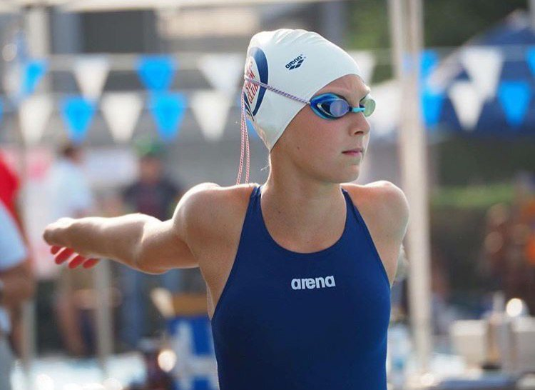 13-Year Old Claire Tuggle Swims 2:00 200 Free at NCSAs