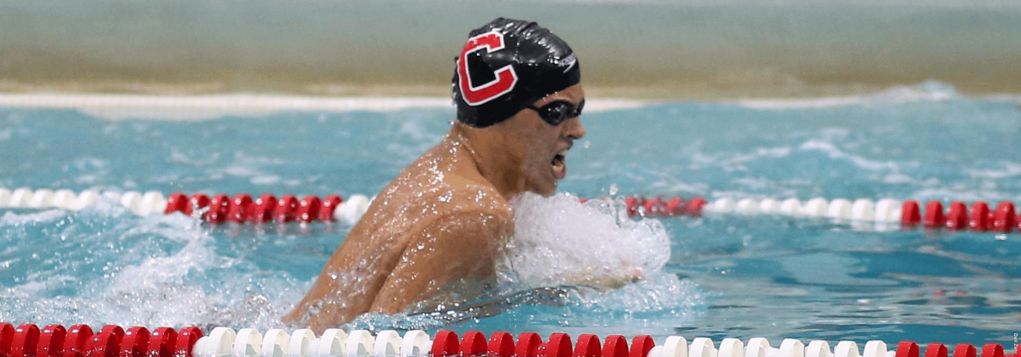 Evdokimov Posts 53.79 100 Breast as 3 Cornell Pool Records Fall