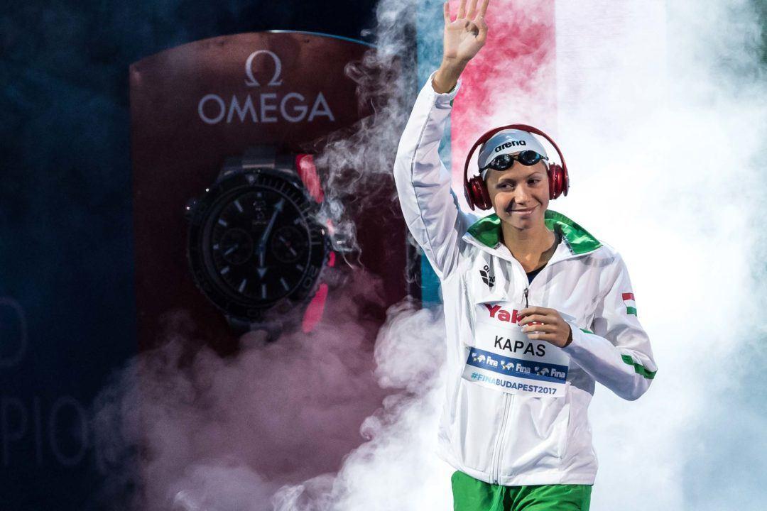World Champion Boglarka Kapas Tests Negative for Coronavirus after Quarantine