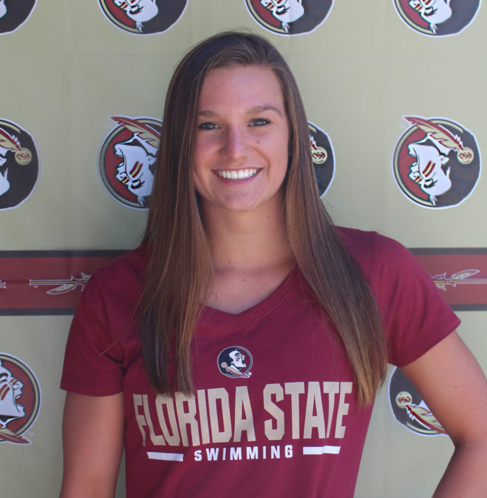 Breast/IMer Hannah Womer Verbally Commits to Florida State