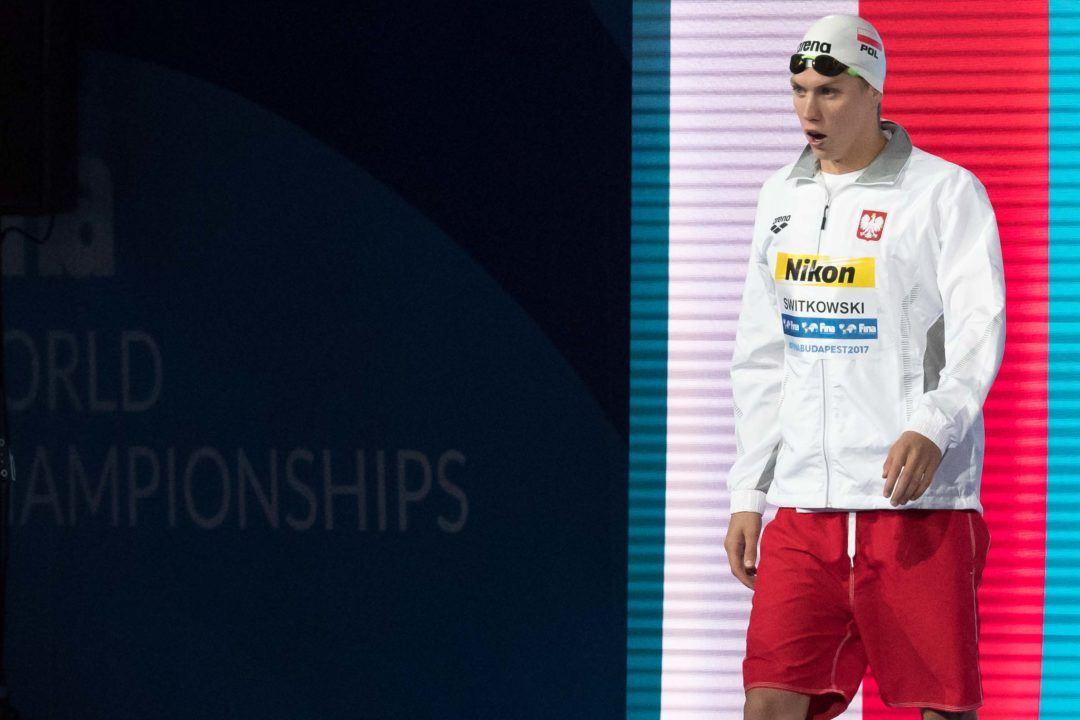 2019 Polish Worlds Teamer Jakub Kraska Swims Personal Best in 100 Free