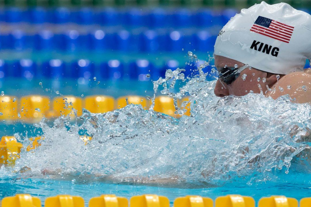 Lilly King Sets 50 Breast World Record In 29.40