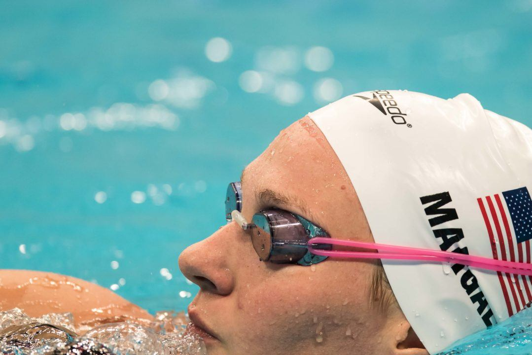 Melanie Margalis Scratches 200 Free Final On Day 3 In Indianapolis