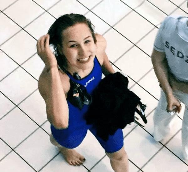 Akron's Paulina Nogaj Swims 53.6 100 Fly in Win Over Miami (OH) in MAC Dual