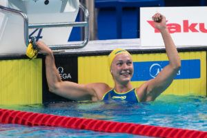 Sjostrom Surges To 132-Point Lead With Top Tokyo World Cup Points