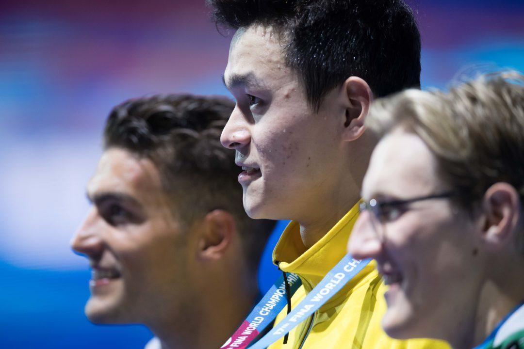 Olimpiadi 2020: 800 o 1500? Le Scelte Di Sun Yang E Mack Horton