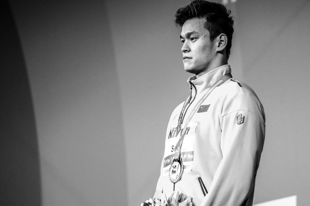 Et une nouvelle affaire de dopage pour Sun Yang