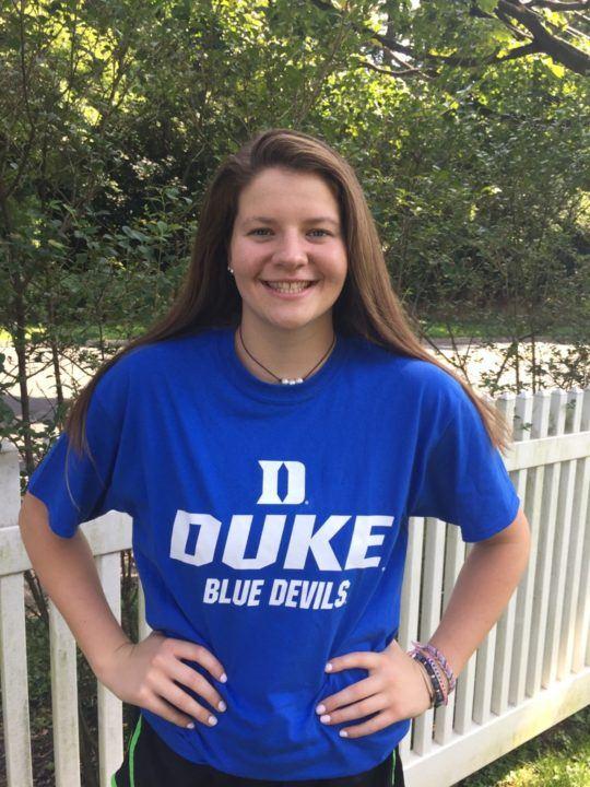 Duke Picks Up Verbal Commitment from Shayna Hollander