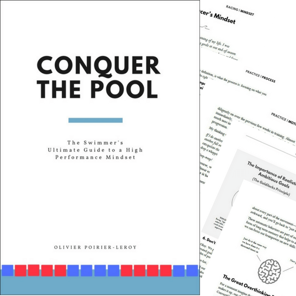 Conquer the Pool Mental Training Book for Swimmers