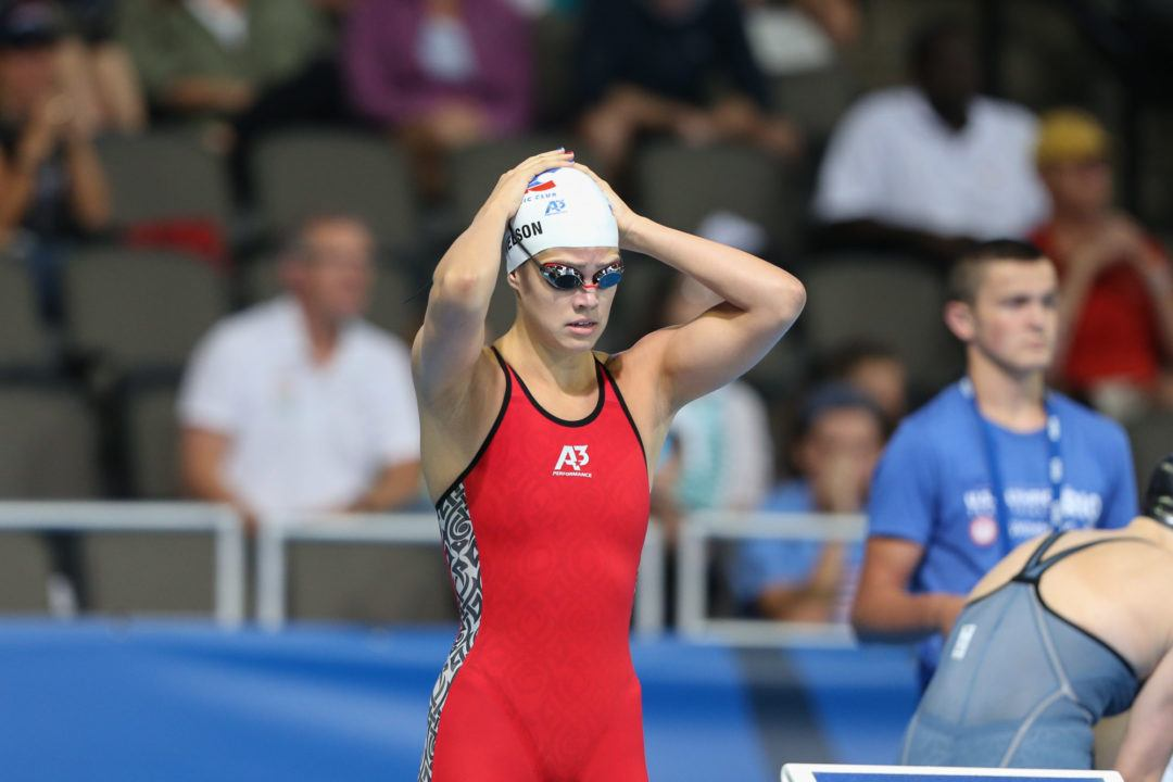 2018 W. NCAAs: Beata Nelson Jumps to #6 All-Time in 200 Back