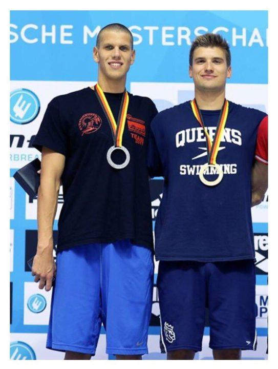 German Butterflyer Alexander Kunert Announces Verbal to Queens