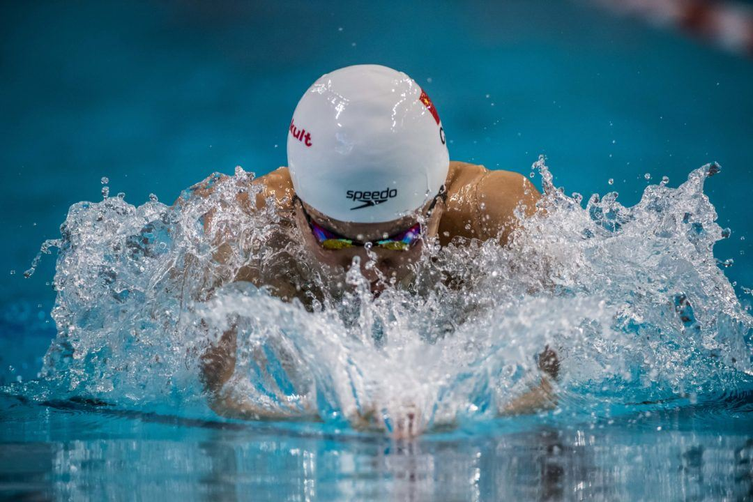 Six Chinese Swimmers Notch Names Onto Olympic Roster Thus Far